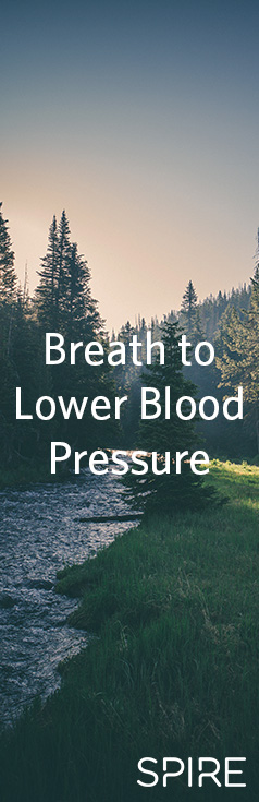 Breath to lower blood pressure - from spire.io