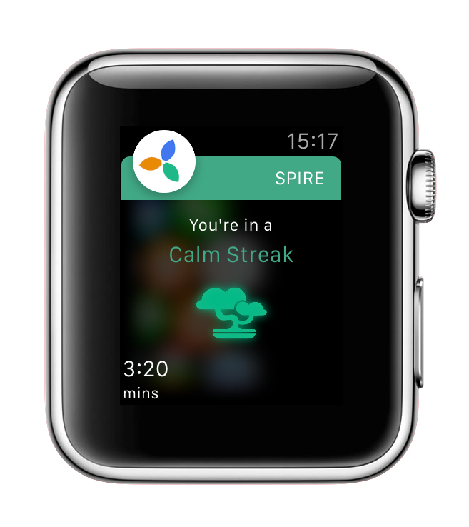 How breath can help you stay calm - from spire.io