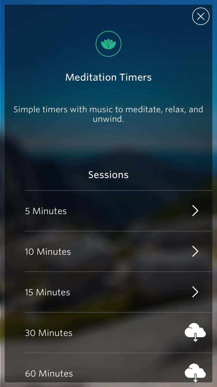 Mediation Timer
